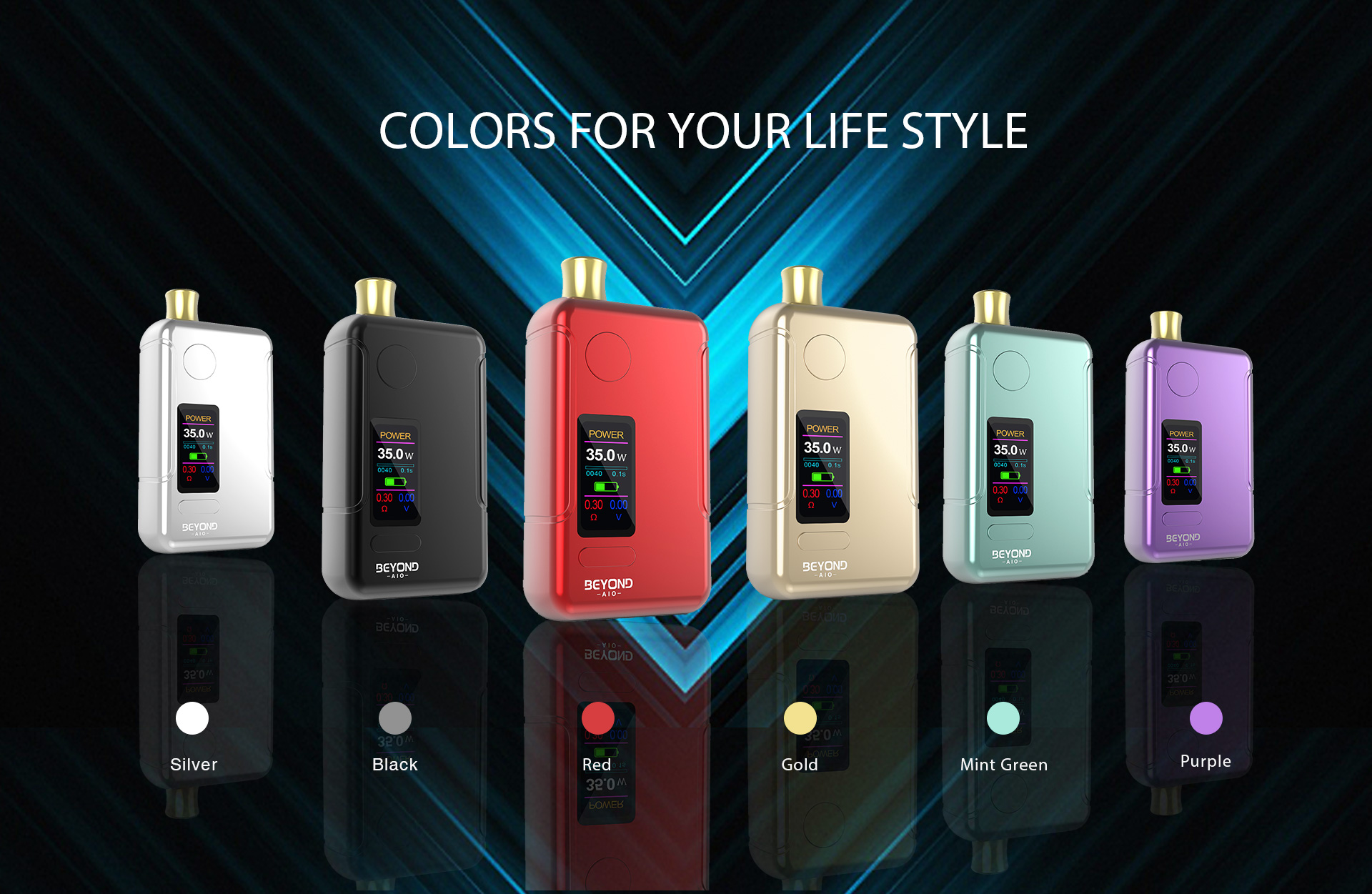 Wellon Beyond AIO Colors