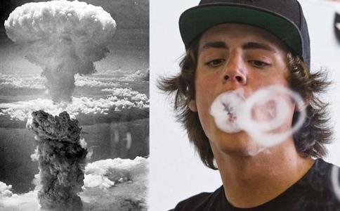 Atomic Bomb Vape Trick