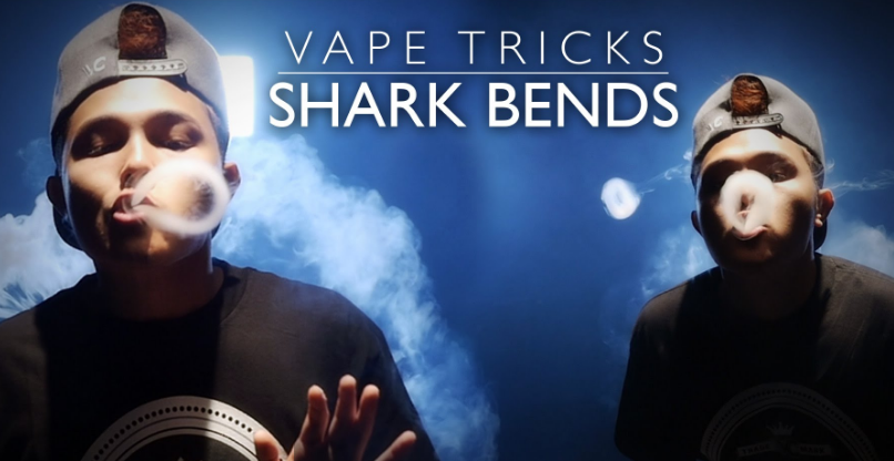 Is Really Shark Bend Vape Trick Just Suit for Advanced Vapors?