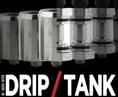 The Advantages of Vape Dripper (compare with Vape Tank)