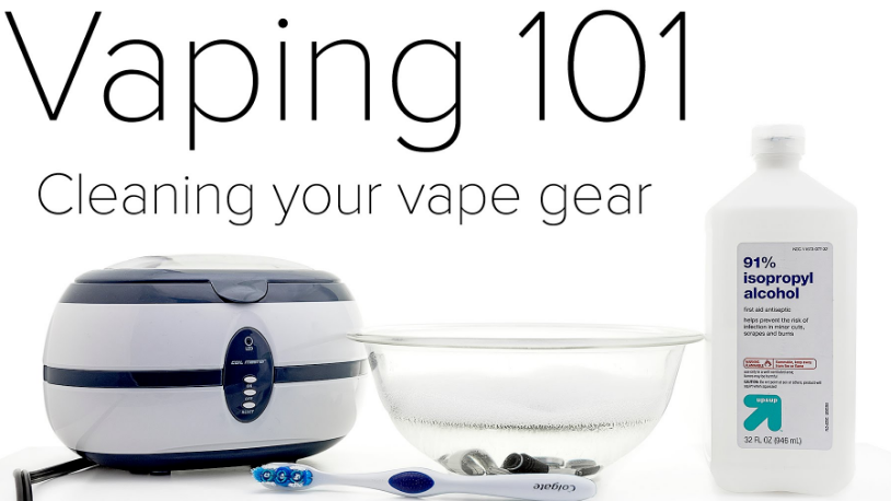 How to Correctly Cleaning Vape Gear?